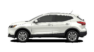 White 2019 Nissan Rogue Sport