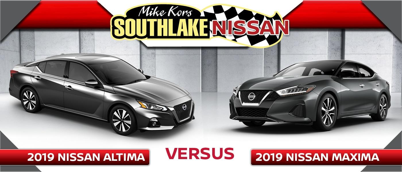 Altima Vs Maxima >> 2019 Nissan Altima Vs Maxima What S The Difference