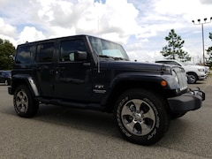 2017 Jeep Wrangler JK UNLIMITED SAHARA 4X4 Sport Utility 1C4BJWEG0HL595621 for sale in Cordele at Southland Chrysler