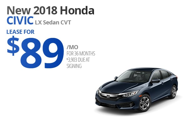 View New 2018 Honda Civic Inventory