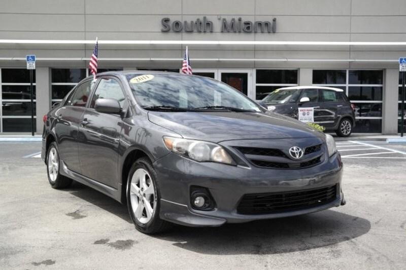 Used 2011 Toyota Corolla S Sedan For Sale In Miami, FL At South Miami FIAT