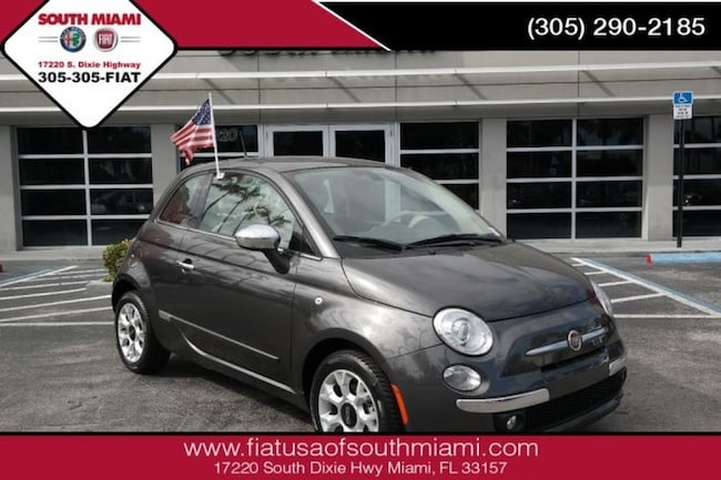 Used 2017 FIAT 500 Lounge Hatchback for sale in Miami, FL at South Miami FIAT