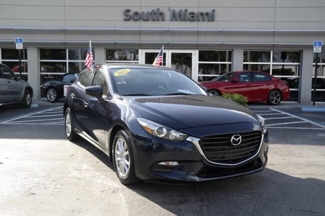 Mazda3 5 Door >> Used 2017 Mazda Mazda3 5 Door Sport For Sale In Miami Fl
