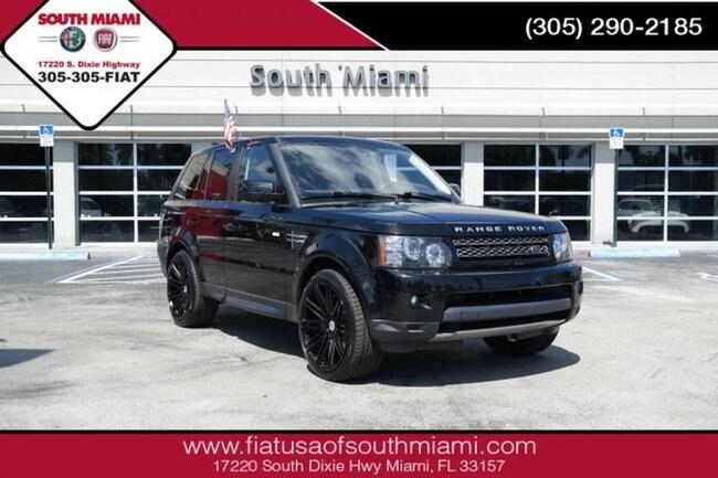 Used 2012 Land Rover Range Rover Sport SC SUV for sale in Miami, FL at South Miami FIAT