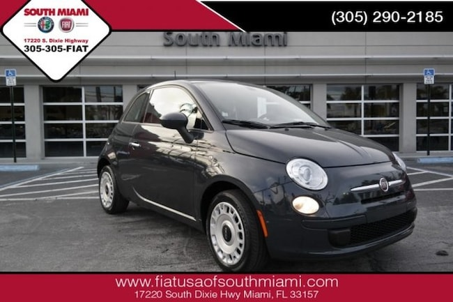 Used 2016 FIAT 500 Pop Hatchback for sale in Miami, FL at South Miami FIAT