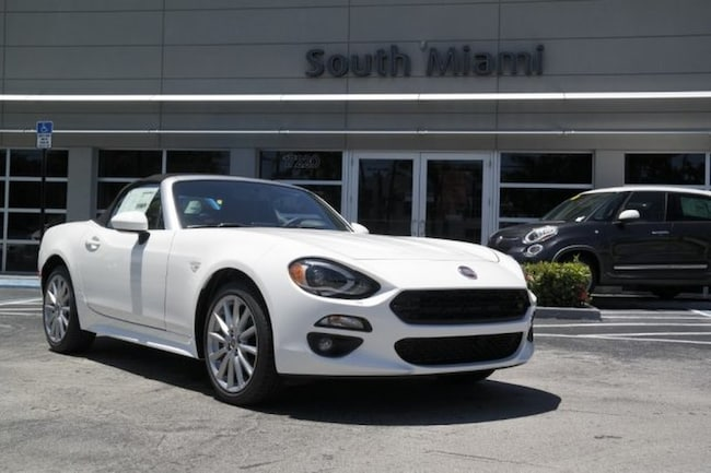 New 2019 FIAT 124 Spider LUSSO Convertible for sale in Miami, FL at South Miami FIAT