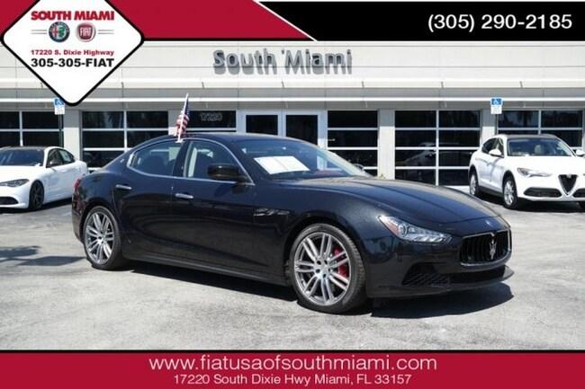 Used 2015 Maserati Ghibli S Q4 Sedan for sale in Miami, FL at South Miami FIAT