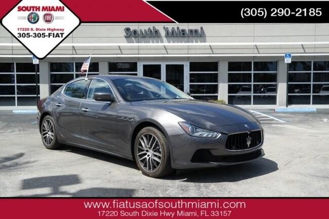 Used 2015 Maserati Ghibli . Sedan for sale in Miami, FL at South Miami FIAT