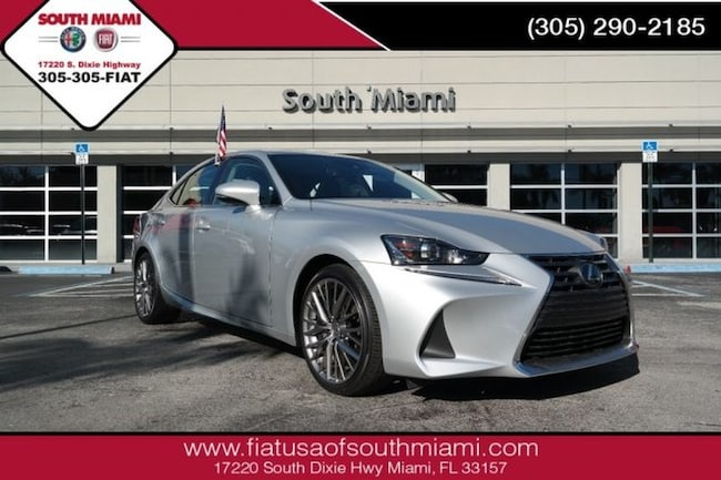 Used 2017 LEXUS IS IS Turbo Sedan for sale in Miami, FL at South Miami FIAT