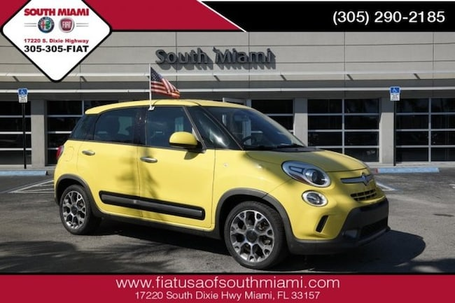 Used 2014 FIAT 500L Trekking Hatchback for sale in Miami, FL at South Miami FIAT