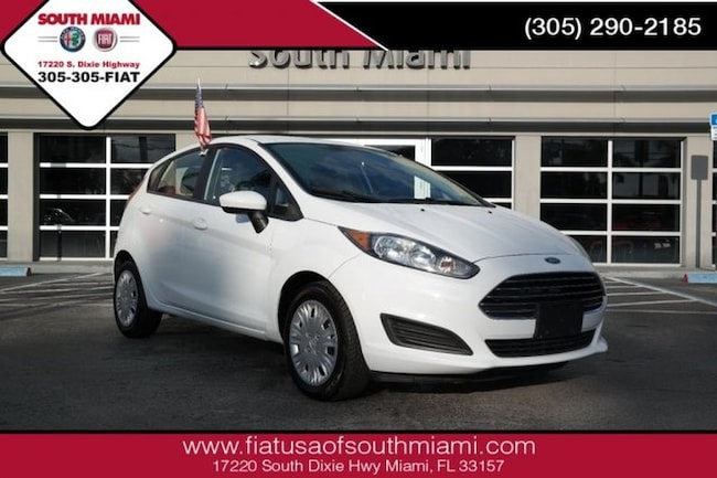 Used 2016 Ford Fiesta S Hatchback for sale in Miami, FL at South Miami FIAT