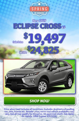 2019 Mitsubishi Eclipse Cross - March Offer
