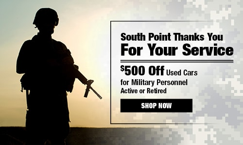 South Point Dodge Thanks You For Your Military Service