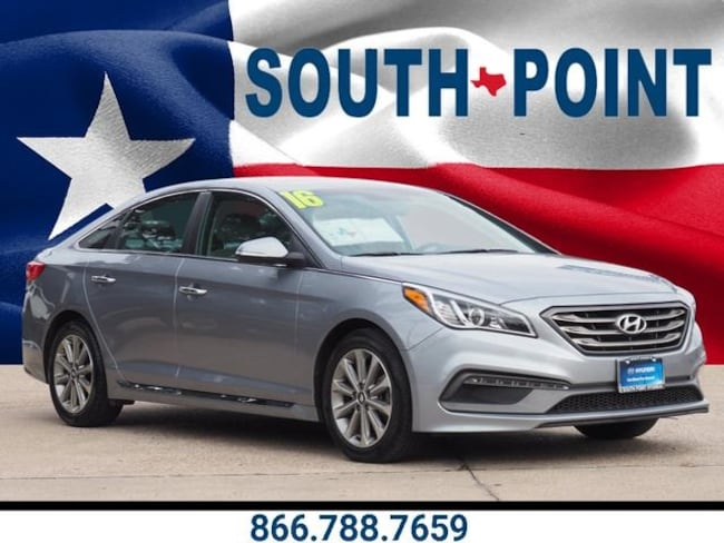 Certified Used 2016 Hyundai Sonata Limited Sedan in Austin, TX
