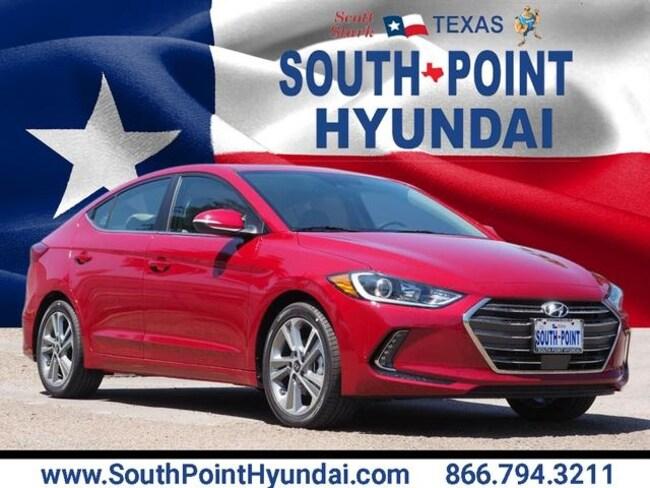 New 2018 Hyundai Elantra Limited Sedan in Austin, TX