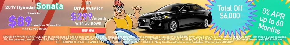 2019 Hyundai Sonata Offer
