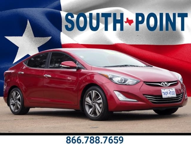 Used 2015 Hyundai Elantra Limited Sedan in Austin, TX