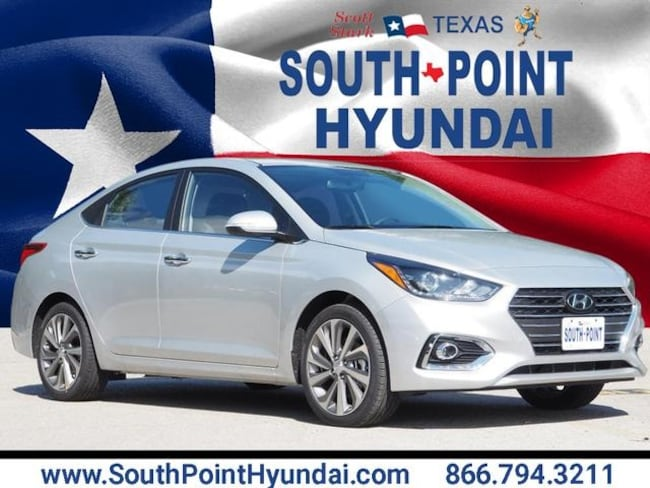 New 2019 Hyundai Accent Limited Sedan in Austin, TX