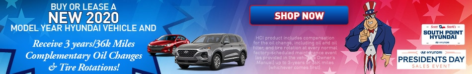 February Buy or Lease A New 2020 Model Year Hyundai Vehicle