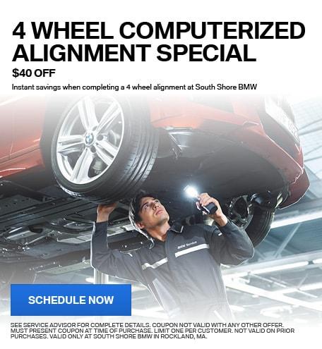 4 WHEEL COMPUTERIZED ALIGNMENT