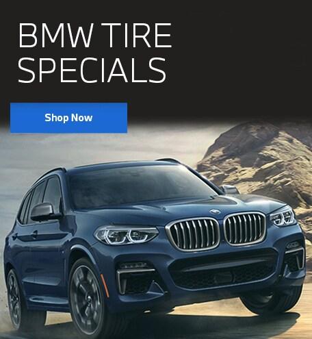 SHOP OUR BMW TIRE SPECIALS