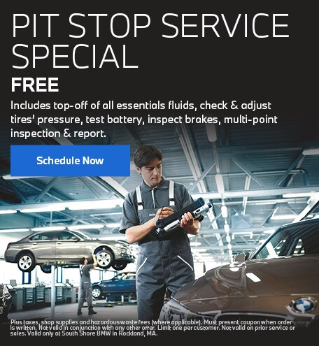 Free Pit Stop Service Special
