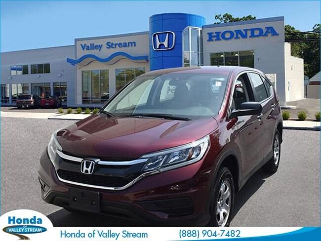 Used 2015 Honda CR-V LX AWD SUV in Valley Stream