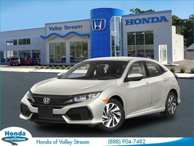 New 2019 Honda Civic LX Hatchback in Valley Stream, NY