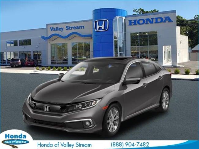 New 2019 Honda Civic EX Sedan in Valley Stream, NY