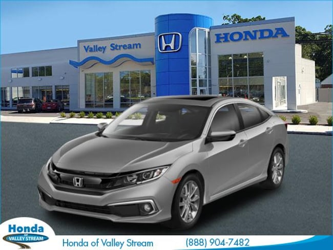 New 2019 Honda Civic EX Sedan in Valley Stream, NY