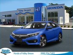 New 2018 Honda Civic EX-L Sedan in Valley Stream