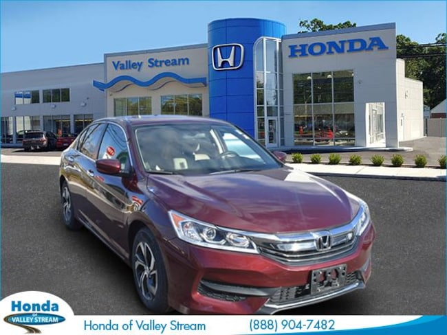 Used 2017 Honda Accord LX Sedan in Valley Stream