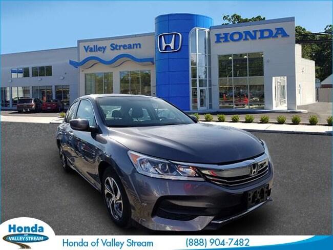 Used 2016 Honda Accord LX Sedan in Valley Stream
