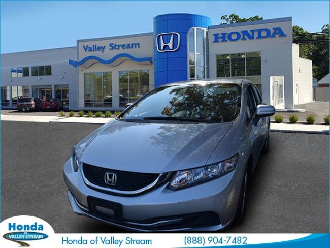 Used 2015 Honda Civic LX Sedan in Valley Stream