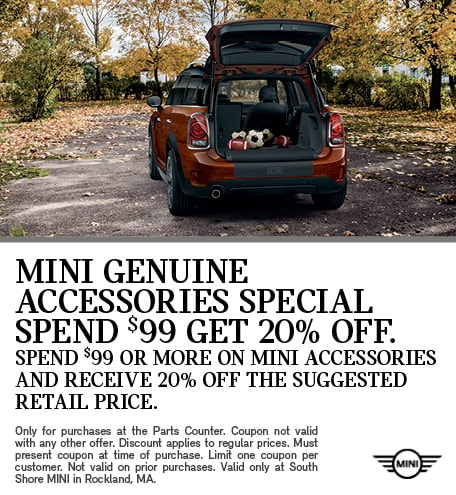 MINI Genuine Accessories Specials