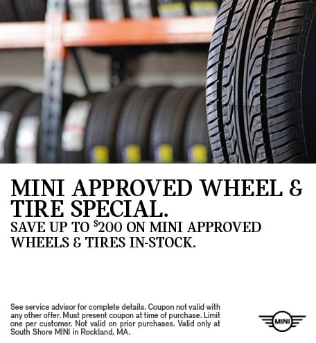 MINI Approved Wheels & Tire Special.