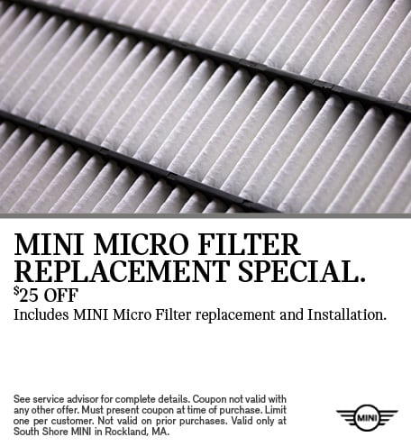 MINI Micro Filter Replacement Special