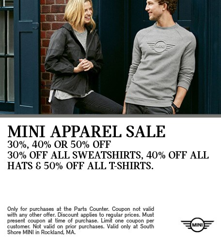 MINI Apparel Sale