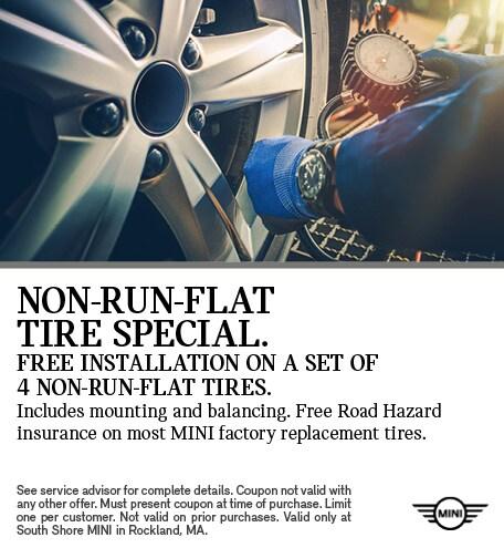 Non-Run Flat Tire Special