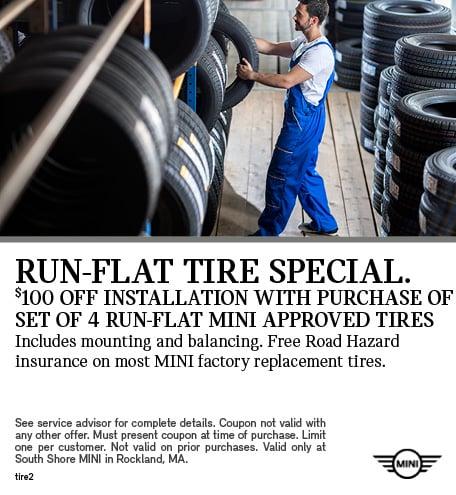 Run-Flat Tire Special