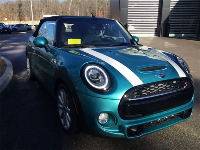 2019 MINI Convertible Cooper S Iconic Convertible in Hingham MA