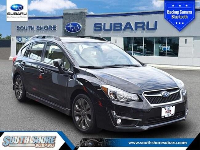 2016 Subaru Impreza 2.0i Sport Premium 5-door