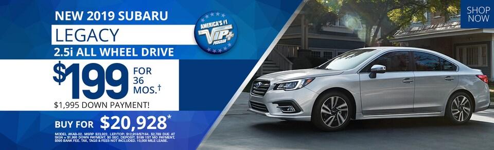 Subaru Legacy Lease Deals and Sale