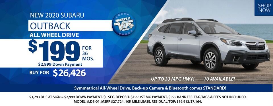 2020 Subaru Outback Deals March 2020