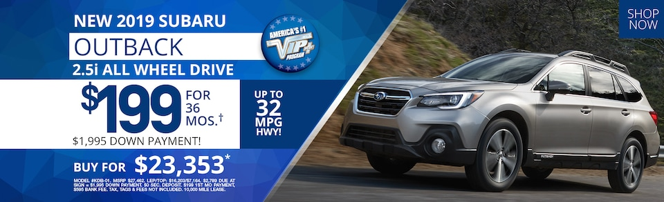 Subaru Outback Lease Deals and Sale