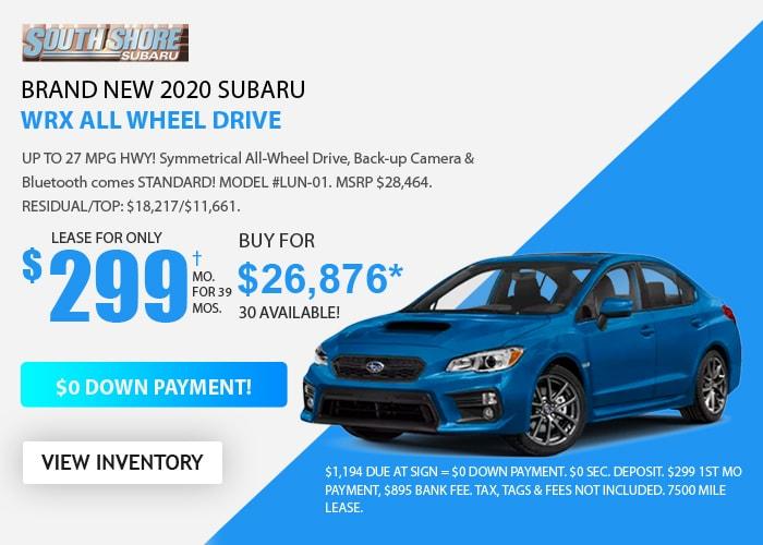 Subaru WRX - August 2020