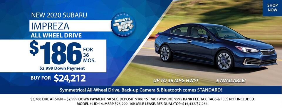 2020 Subaru Impreza Deals March 2020