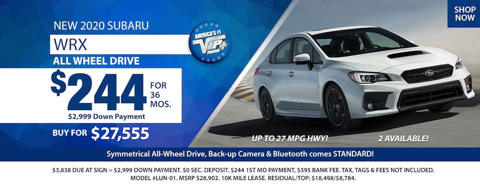 2020 Subaru WRX Deals March 2020