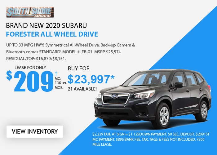 Subaru Forester - September 2020