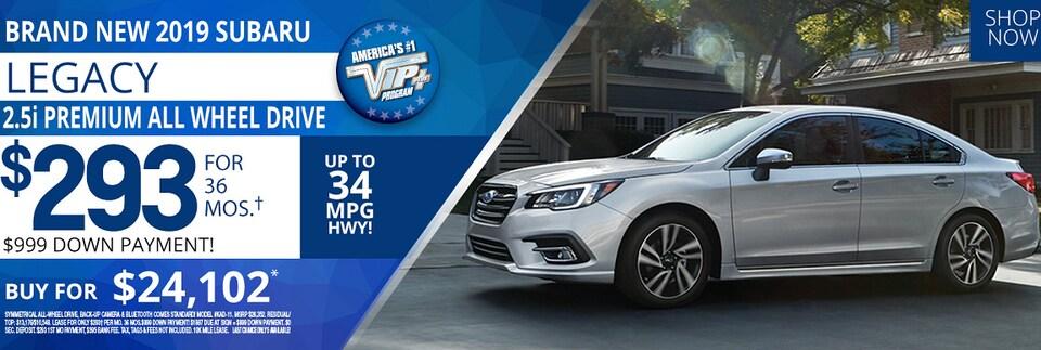 Subaru Legacy Oct 2019